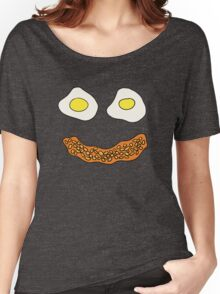 Eggs and Beans face Women's Relaxed Fit T-Shirt