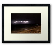 Storm Spectacle 20 Framed Print