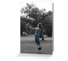 Diabolo Greeting Card