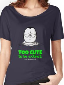Too Cute To Be Extinct v.2 Women's Relaxed Fit T-Shirt