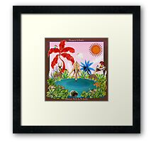 Afternoon Drinks by Ro London - Menagerie Collection Framed Print