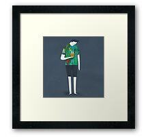 Fitting In Framed Print
