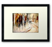 Going Home.... Framed Print