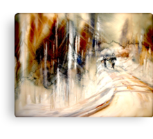 Going Home.... Canvas Print