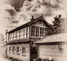 Loughborough Signalbox by Aggpup