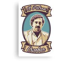 Pablo Escobar - El Patron Canvas Print
