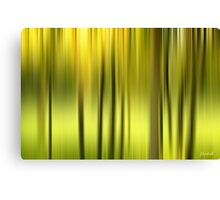 Northern Forest Abstract Canvas Print