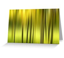Northern Forest Abstract Greeting Card