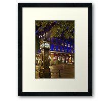Edge Corner  Framed Print
