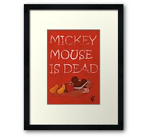 Mickey Mouse Trap Framed Print