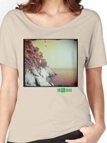 Free - T.shirt green caption Women's Relaxed Fit T-Shirt