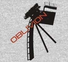 Oblivion - Alton towers Kids Tee