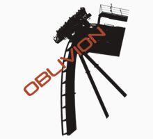 Oblivion - Alton towers One Piece - Long Sleeve