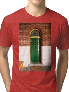 0123 The Curved Door Tri-blend T-Shirt