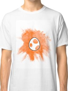 Orange Yoshi Egg Classic T-Shirt