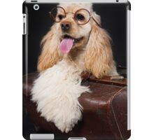 Funny Dog And Glasses iPad Case/Skin