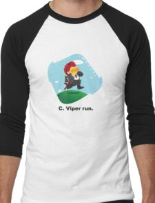 C. Viper run. Men's Baseball ¾ T-Shirt