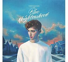 Blue Neighborhood - Troye sivan Photographic Print