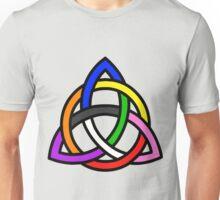 Gay Pride - Triquetra - (Designs4You) Unisex T-Shirt