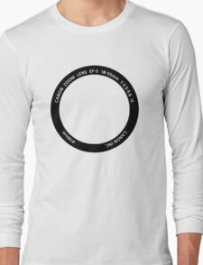 WEAR YOUR PASSION: 18-55mm Long Sleeve T-Shirt