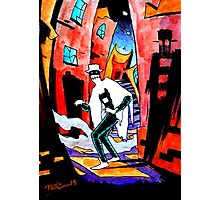The Spirit of the Shadows - Sketch Card 1 Photographic Print