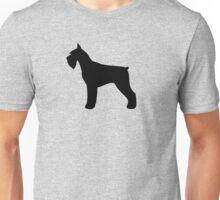 Giant Schnauzer Silhouette(s) Unisex T-Shirt