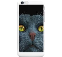 CAT VISIONS - iPhone case animal art iPhone Case/Skin