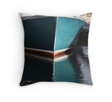 Koster Island boat Throw Pillow