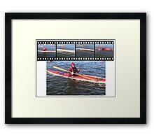 film stripsteve Framed Print
