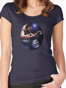 Neil Degrasse Tyson - Creating a Universe Women's Fitted Scoop T-Shirt