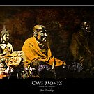 Chiang Dao Monks by Gene Tewksbury