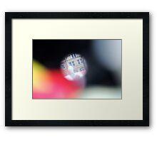 Pinhole Framed Print