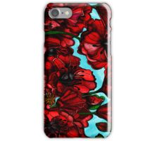 Poppies in bloom iPhone Case/Skin