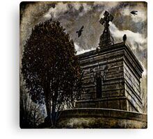 Raven's Roost Canvas Print