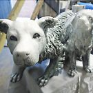 Snow Dogs (studio work). by Andrew Nawroski