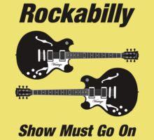 Rockabilly Show   Black Kids Tee