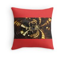 Twisted City Throw Pillow