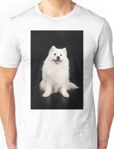 White Dog Unisex T-Shirt