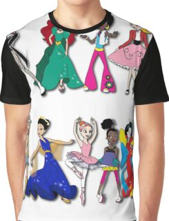 Dance - all across the world Graphic T-Shirt