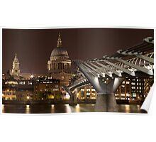 Millenium Bridge Poster