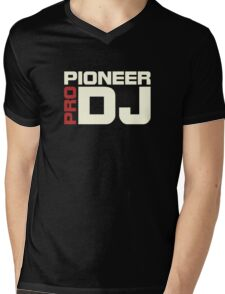 Pioneer Dj Pro Mens V-Neck T-Shirt
