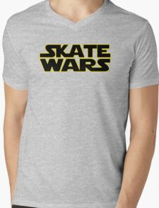 SkateWars Mens V-Neck T-Shirt