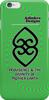 7-iphone4-Adinkra-Series-Providence by Keith Richardson