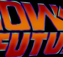 NOW IS THE FUTURE - Logo 21/Oct/2015 Sticker
