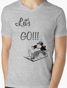 Let's Go!!! Mens V-Neck T-Shirt