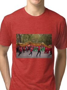 Chinese dragon in the mall London Tri-blend T-Shirt