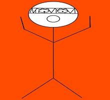 crazy criminal drummer stick figure Unisex T-Shirt