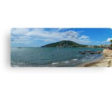 Santa Eulalia Shoreline Canvas Print
