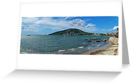 Santa Eulalia Shoreline by Tom Gomez