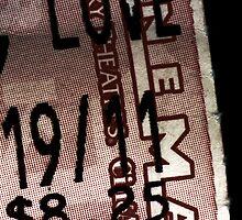 Ticket Stub by Tyler Woodward